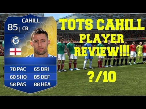FIFA 14 - TOTS Gary Cahill Player Review!!!