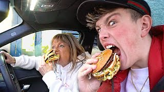 I Went Through as many Drive Thru's as Possible in One Hour & it was Shocking (Drive Thru Challenge)