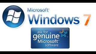 Como Activar Y Validar Windows 7 [Agosto 2014][Cualquier