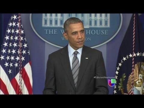Barack Obama ordena las primeras sanciones contra Rusia -- Noticiero Univisión