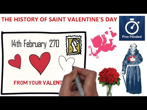 Saint Valentine's Day Animated History