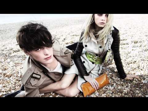 Burberry Spring Summer 2011 Advertising Campaign Video - Cara and Jacob.