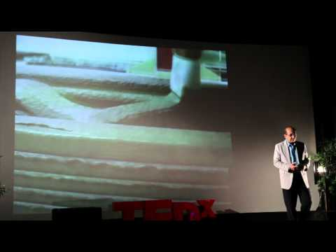 Contour Crafting: Automated Construction: Behrokh Khoshnevis at TEDxOjai
