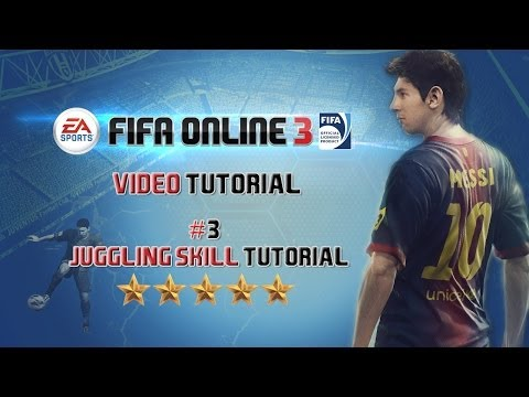 FIFA Online 3 | Juggling Skill Tutorial | + Controller Animation | by
