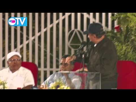 Comandante Daniel preside acto del 50 aniversario de los Alcohólicos Anónimos de Nicaragua