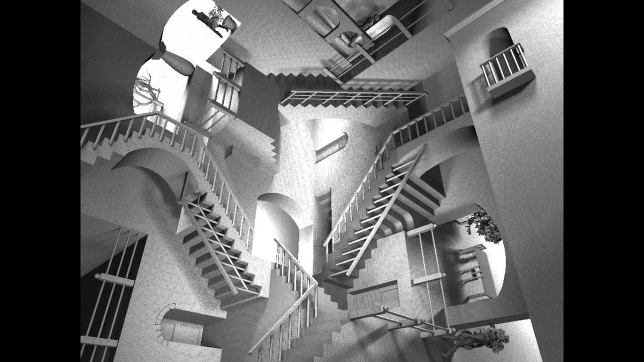 Animation Of Mc Escher S Relativity Youtube