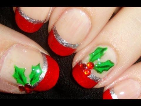 Gift Wrapped Nail Art Short Nails Nail Designs Video