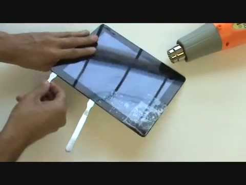 iPad 2 Glass Repair Replace Cracked Screen/Glass/Digitizer/LCD Replacement 2nd Gen - (Detailed)
