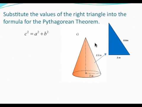 Volume Of A Cone Finding The Height Using The