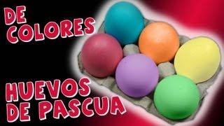 Como Pintar Huevos De Pascua *How To Easter Eggs* Hacer
