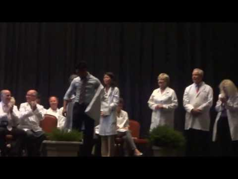 Student-Doctor Paco De Asis - Best White Coat Ceremony!