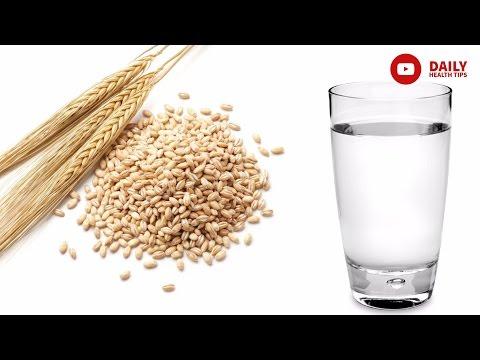 जौ का पानी पीने के फायदे और पेट की चर्बी कम करने के लिए इस्तेमाल करने का तरीका