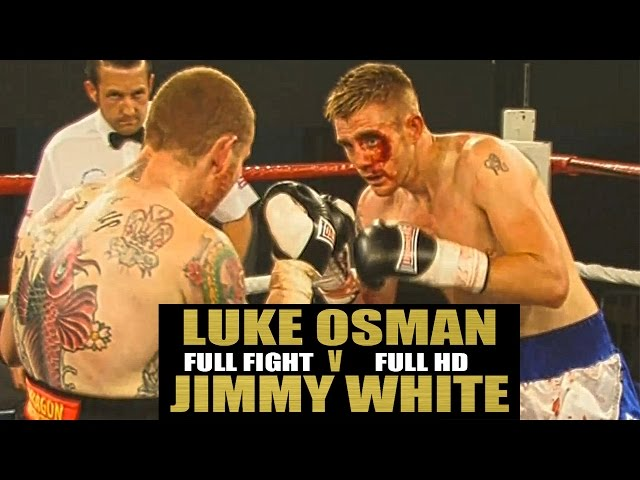 Luke Osman Vs Jimmy White Bloody Fight