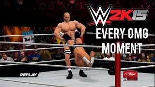 WWE 2K15 How To Perform Every OMG Moment (Tutorial