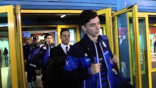 L'Under 21 sbarca a Palermo, le immagini