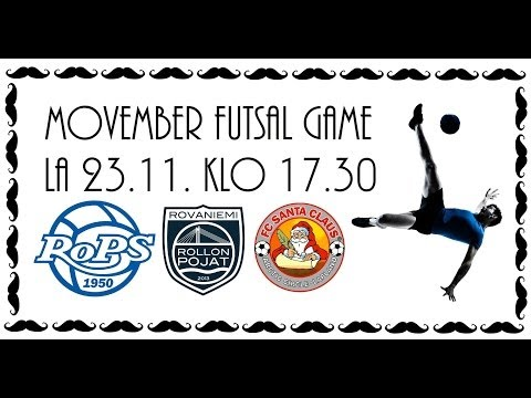 Movember Futsal Game 23.11.2013