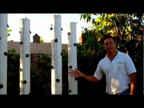 Vertical Aeroponic Garden Enviroscape LA