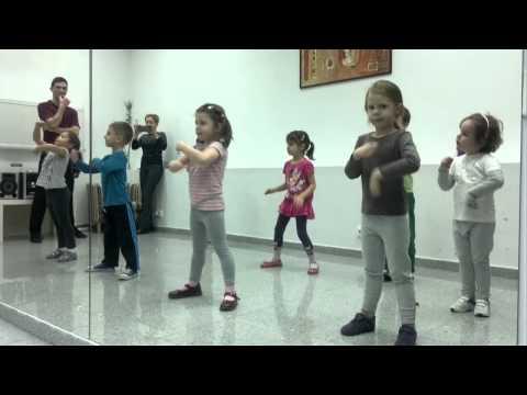 Dansuri pentru copii 4-6 ani * www.dancetime.ro * Dans in sector 1-2-3