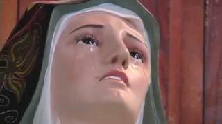 Milagro En Puebla Virgen De Los Dolores Llora