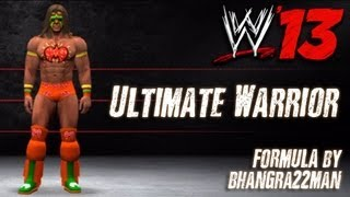 WWE '13 Ultimate Warrior CAW Formula By Tomcat13