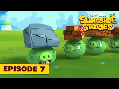 Anry Birds Slingshot Stories - EP7 - Prasatá budou lítat