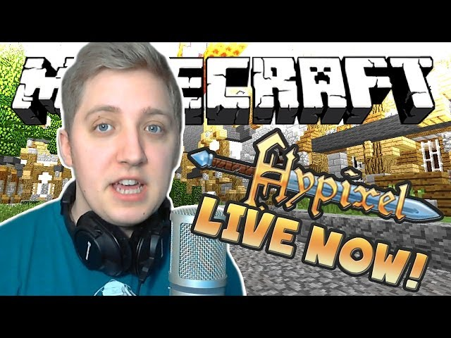 BIG Saturday Livestream on Hypixel Network