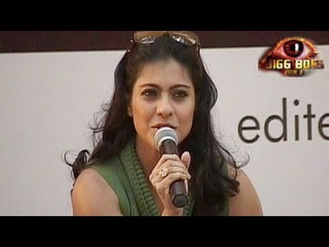 Bigg Boss 7 Kajol SUPPORTS & REACTS to Tanisha in Bigg Boss 7 10th December 2013 Day 86 FULL EPISODE