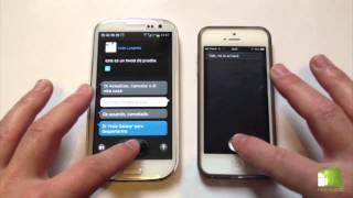 Comparativa Samsung Galaxy S3 Vs IPhone 5 En Español