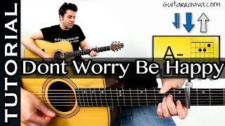 "Guitarra: Como tocar ""Don´t worry be happy"""