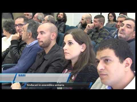 Teleregione BARI   SindacatI riuniti in assemblea
