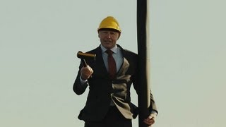 Claes Nilsson, President of Volvo Trucks, doesn't Hesitate to act as his own Stuntman