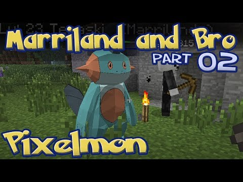 Marriland and Bro Pixelmon Part 02: Poké Ball Bros! [PixelLeague]