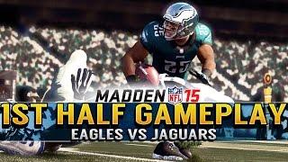 Madden 15 Gameplay Livestream Eagles Vs Jaguars Full 1st