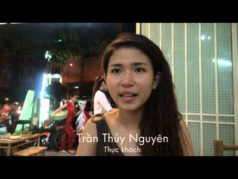 Ăn côn trùng sống ở Sài Gòn