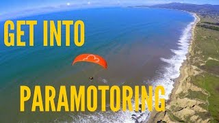 Getting into Paramotoring - Tips