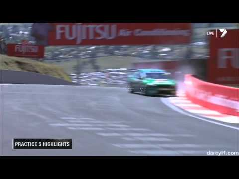 Chaz Mostert Hard Crash @ 2013 V8 Supercars Bathurst Practice