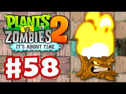 Plants vs. Zombies 2: It's About Time - Gameplay Walkthrough Part 58 - Torchwood (iOS)