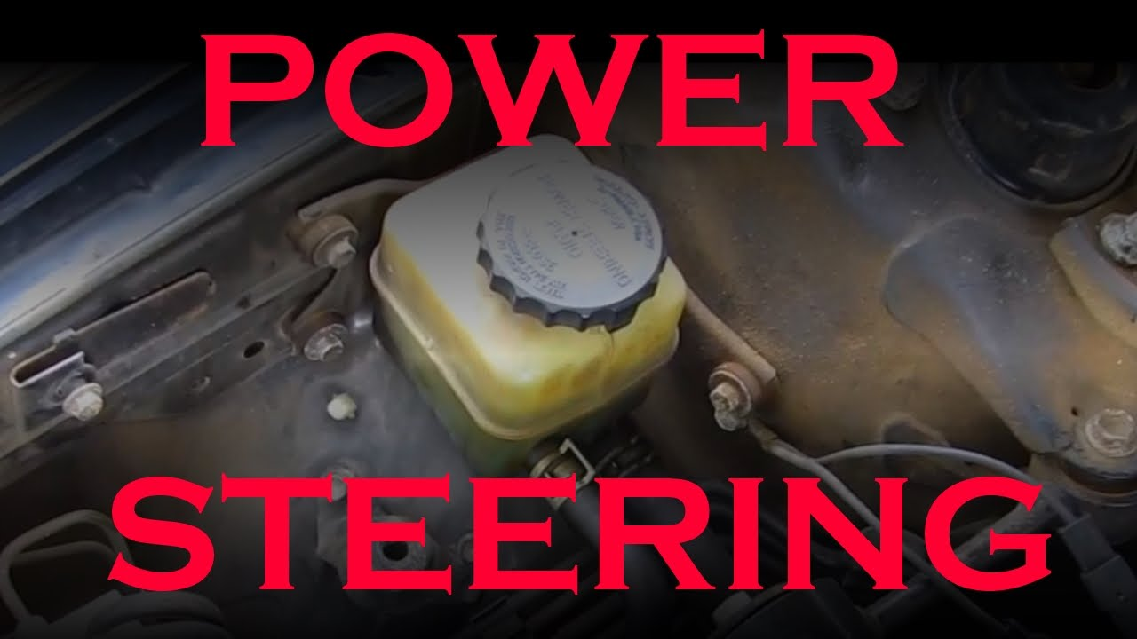 Toyota Power Steering Fluid Change