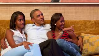 Rare Look Inside Where Obama Lives At The White House