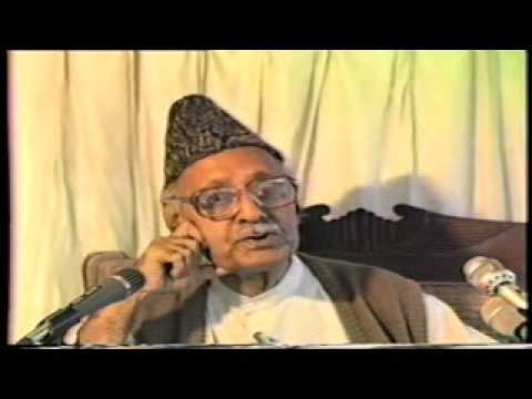 IQBAL DAY (22 Apr Khulqe Khuda Ki Ghat Main) part 07 by Ghulam Ahmed Parwez recorded by tolueisla