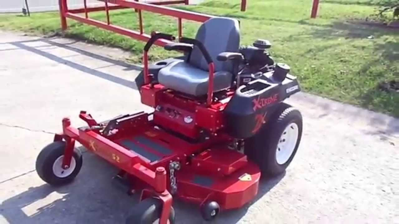 52 Encore X Treme 52k25x Zero Turn Lawn Mower With 25 Hp