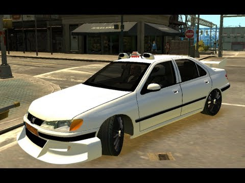 TAXI 3 ON GTA4 PEUGEOT 406 TUNING TAXI Part 2
