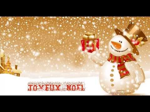 Fond écran animé + screensaver Bonhomme de neige de Noel