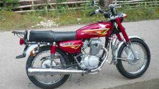 Honda TMX Modification To CB Style