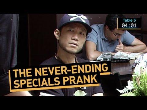 Never Ending Specials Prank
