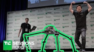 DEMO: NABi and ALPHRED (Dennis Hong, UCLA) | TC Sessions Robotics 2018