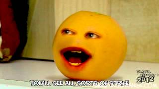 Annoying Orange - He Will Mock You (with free MP3!!!)