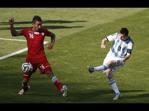 Argentina 1-0 Iran World Cup 2014 Lionel Messi Goal HD [21/06/2014]