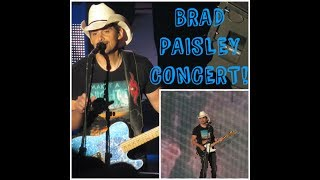 Brad Paisley Concert 2017! | Mountain View, CA