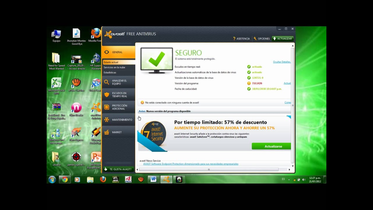avast free how to add account to safebank